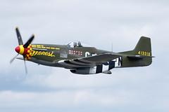 North American P-51 Mustang N357FG (lucaban87) Tags: northamerican p51 mustang n357fg p51mustang warbird avgeek royalinternationalairtattoo riat fairford avporn aviation canon qraaviation