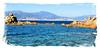Porticcio (arno18☮) Tags: corse france porticcio ajaxio bleu nikon flikr harmonie nature landscape explore paysage rivage plage sable pierre