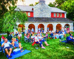 Nissley Vineyards Evening Concert in Lancaster County Pennsylvania (PhotosToArtByMike) Tags: nissleyvineyards concert musicinthevineyards lancastercounty nissleyvineyardsandwineryestate pennsylvania pa wine winery vineyard bainbridgepennsylvania lancastervalley