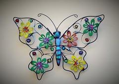 Cositas para decorar (Ester Arrebola Bravo) Tags: decorar mariposa