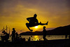 Jumpshot (ranierkeaneabad) Tags: a6000 sonyphotography philippines pilipinas nature beach sunset jumpshot silhouette tra
