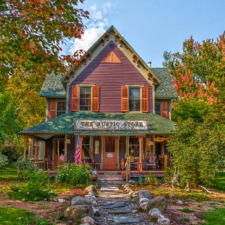 Keene Valley  - New York  ~ The Rustic Store Bald Mountain Rustic - Adirondack  Mountains
