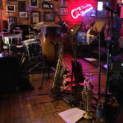 Stage (tim.perdue) Tags: stage park street tavern columbus ohio bar club live music band performance musical instruments neon light instagram