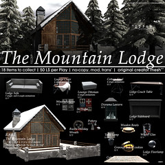 22769 - The Mountain Lodge : The Arcade December 2017 (manuel ormidale) Tags: lodge winter snow arcade thearcade 22769 22769~bauwerk bauwerk pacopooley indoorfurniture indoor furniture woodhouse wood woodenhouse sofa bed chair furchairfur cozy table cookies boxofcookies tablelamp floorlamp lamp christmas minimalistchristmastree minimalist geometric groundhouse meshgroundhouse art wallart lights fireplace wreath christmaswreath stone patio rug rustic rusticwood elegant ottoman animations lounger lounge loungechair chalet couchtable couch cottage