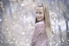 A lovely transition (miss.interpretations) Tags: winter portrait snow bokeh outdoors nature christmas holidays colorado castlerock portraiture child childhood innocence beauty november 2017 rachelbrokawphotography canon6dmarkii 85mmf18