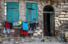 Decayed but full of life (Nadia Rifaat) Tags: laundry old house alexandria egypt outdoor nikon d5300 street photography