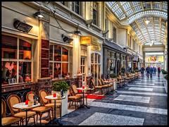 James Ensor Passage (glessew) Tags: jamesensor passage oostende ostend vlaanderen westvlaanderen belgië belgique shop winkel laden restaurant architecture bistro