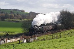 Oliver Cromwell At Stokesay (woo741) Tags: 251117 oliver cromwell stokesay christmas cheshireman