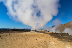 Cloud Fountain (*Capture the Moment*) Tags: 2017 clouds farbdominanz fog fotowalk iceland island namaskard nebel rauch schlammquellen schwefel smoke sonya7m2 sonya7mii sonya7mark2 sonya7ii sonyfe2470mmf4zaoss sonyilce7m2 sulphur wetter woleken yellow gelb mudfountain mudspring mudwell