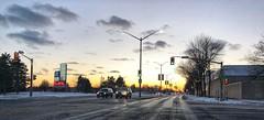 Ride home (Richard Pilon) Tags: canada city iphone ontario street sunset urban cornwall iphoneography