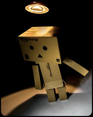 Light up . (CWhatPhotos) Tags: cwhatphotos danbo light amazon toy pics pictures picture image images copy right foto fotos that have with which contain photo photos ask dark shadow shadows shadowed alone flickr