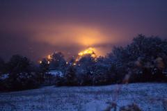 Se una notte d'inverno un viaggiatore... (raffaella.rinaldi) Tags: inverno snow winter neve christmas landscape night fortress castle light walking san leo valmarecchia