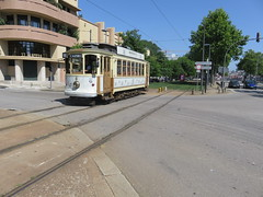 Trams de Porto (Portugal) (Trams aux fils (Alain GAVILLET)) Tags: tramsdeporto tramsportugais tramsvoiesnormales stcp porto portugal