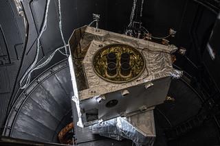 Mercury Transfer Module in space simulator