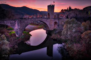 Puente de Besalu  _XT22459