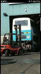 H142GGS, Off To The Grave (matt.garvey72) Tags: h142ggs h142 ggs keighley transdev leyland olympian double decker bus west yorkshire scrap barnsley geoff ripley carlton breaker