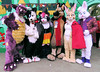 Critters By the Bay at Fairyland's Jack-o-Lantern Jamboree 2017! (critter superhero) Tags: fursuit costume halloween dragon dog collie raccoon sheperd bunny rabbit