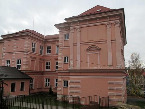 Budova základní školy v Kamenné ulici