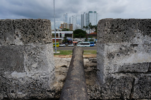 """Part of the 11 Kilometers of Defensive Walls that Protect Old Town Cartagena. • <a style=""""font-size:0.8em;"""" href=""""http://www.flickr.com/photos/28558260@N04/38100164034/"""" target=""""_blank"""">View on Flickr</a>"""