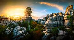 Torcal Natural Park #3 (jesbert) Tags: torcal antequera malaga españa andalucia spain paisaje landscape atardecer sunset rocks sony a7r2 irix 15mm panorama cielo roca nubes clouds