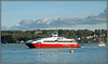 Red Jet 3, West Cowes (Jason 87030) Tags: westcowes solent se soton southampton passnegers foot ferry maritime water boat shift craft redfunnel red jet 3 2017 catamaran
