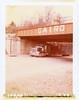 Cairo, IL (moominsean) Tags: polaroid 195 instant illinois cairo midwest bridge train truck semi motion