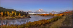 We do not inherit the earth from our ancestors we borrow it from our children (PhotoArt Images) Tags: usa america grandteton oxbowbend jacksonhole photoartimages landscape lake fall autumn