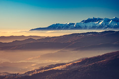IMGP6940 (TomaszMazon) Tags: mogielica view beskidy morning sunrise tatra mountains poland
