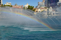Oh, the Beautiful Possibilities! (BKHagar *Kim*) Tags: bkhagar lasvegas vegas nv nevada bellagio hotel casino fountains water show dance music spray rainbow sparkle
