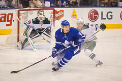 Zack Hyman Spinning to Pass (Marleau Scored) (b.m.a.n.) Tags: acc nhl zackhyman nikond850 hockey torontomapleleafs