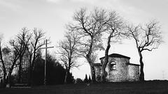Olsztyn (fb.com/fotografiaplener/) Tags: olsztyn zamek castle bw trees old