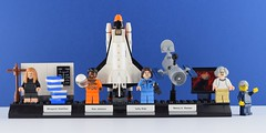 🚀LEGO 21312 Women of NASA🌙 (Alex THELEGOFAN) Tags: lego legography minifigure minifigures minifig minifigs minifigurine minifigurines women of nasa rocket margaret hamilton mae jemison sally ride nancy g roman white ideas