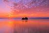 sunset 0561 (junjiaoyama) Tags: japan sunset sky light cloud weather landscape purple orange contrast color bright lake island water nature fall autumn