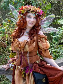 Pretty Renaissance Woman - Autumn Fairy