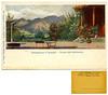 Roncegno, piazzale dello stabilimento, Jaques Philipp, Wien (Ecomuseo Valsugana | Croxarie) Tags: cartolina roncegno roncegnoterme terme bagni