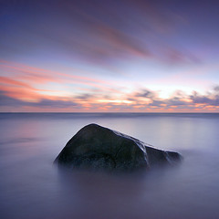 Ston&Sea (pattana92392) Tags: seawave sea longexposure coast water fineart stone sunset