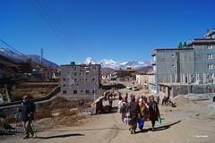 The last stop (Bina Bantawa) Tags: pilgrims pilgrimage nepal tourismhas stops hotels scenery traveller mustang landscape muktinath