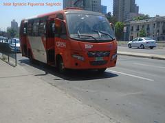 U4 Express de Santiago.- (JIF Transportes.) Tags: volare w9 urbano agrale ma92