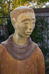 St. Francis in Sedona (close-up) (wplynn) Tags: arizona outdoor outdoors stfrancis saintfrancis saint francis losabrigados resort spa statue art