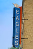 Eagles Alit (Owen Dett) Tags: northdakota eagles aerie fraternal neon sign small city
