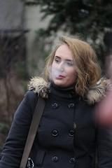 Exhale (if you insist) Tags: smoker smoking candid cigarette addict drift nicotine exhale eurosmoke female