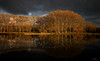 Oudegein#1 (Oudje1955) Tags: autumn forest fog colors leaves park water mirror ironlight oudegeinnl schalk canon70d canon1022mm ambiance