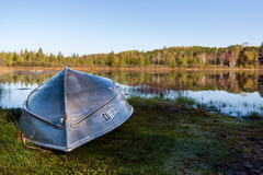 Edit -1-15 (Dane Van) Tags: horseheadlake canadacreekranch atlantamichigan sunrise fall rowboat autumn upnorth nature canon 5d 35mm