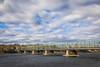 New Hope-Lambertville Bridge (joscelyn_p) Tags: lambertville newjersey newhope pennsylvania newhopelambertvillebridge bridge span clouds sky cloudscape river delawareriver delaware outside outdoors scene scenic canon lightroom
