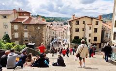 Le Puy en Velay (thierry llansades) Tags: lepuy velay auvergne lyon cathedrale catholique religion clermont issoire thiers monument patrimoine eglise fresque fresques unesco allier puydedome aiguille aighuille