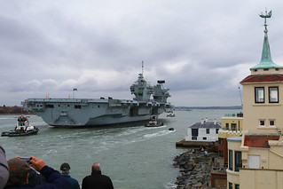 HMS Queen Elizabeth, Portsmouth, November 21st 2017