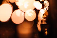 Lichterspiel (Ir3nicus) Tags: geldern nordrheinwestfalen deutschland de germany vernum niederrhein outdoor ausen afsnikkor85mm114g nikon d700 dslr fullframe fx lichterkette lichter chainoflights lights weihnachtsschmuck christmasdecoration bokeh shallowdepthoffield lowlight geringeschärfentiefe night nacht