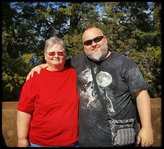 10/20/17 -  Mom and I (CubMelodic23) Tags: october 2017 vacation trip alabama wheelerdam hdr selfportrait me dave mom family