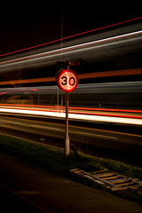 30 (Explored 1/12/17) (timh255) Tags: 1855mm 52weeks d5200 lighttrails lightroom night nikon sign speed timhutchinson tripod explore