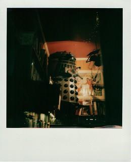 Dalek in the shop